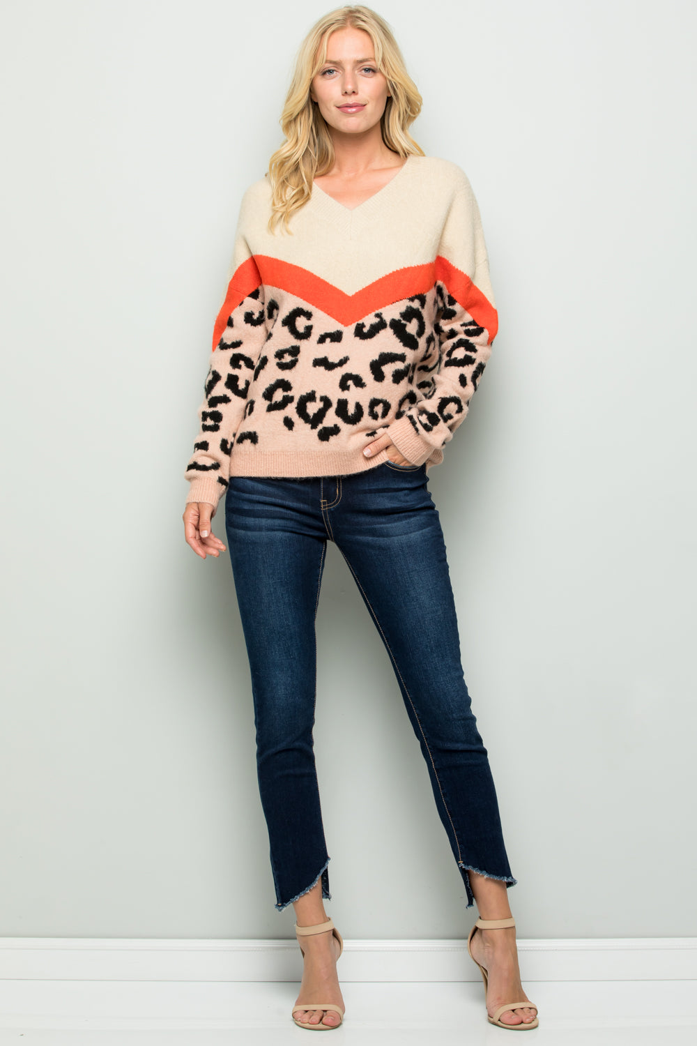 SW6083 Animal Sweater Top