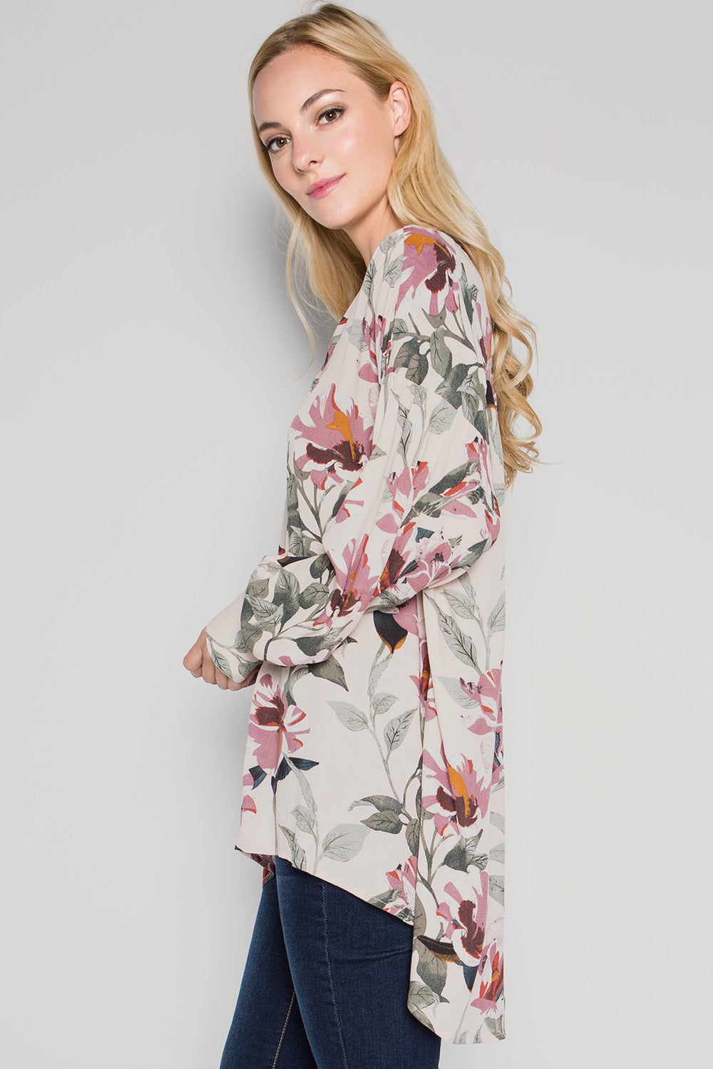 T2207 Floral Shirts