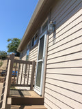 My energy efficient windows are burning my vinyl siding!