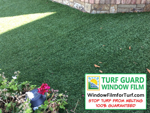 Window Film to Stop Artificial Turf from Melting