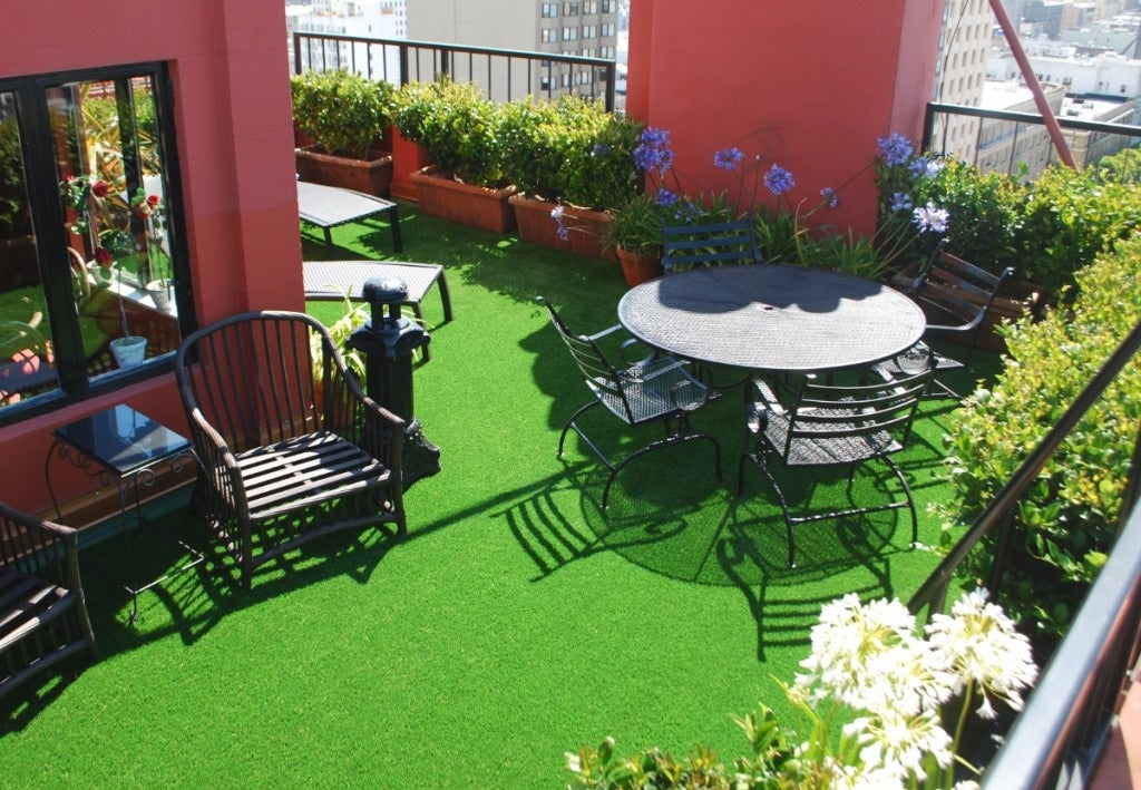 Comparing Methods to Prevent Melting Artificial Grass