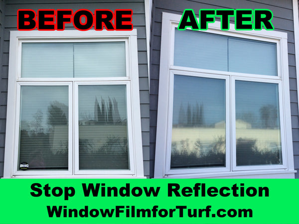 window film for artificial grass