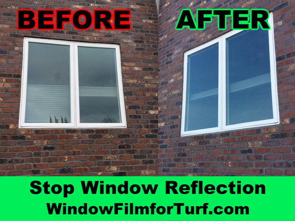 stop windows from damaging melting turf artificial grass