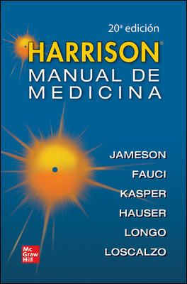 HARRISON MANUAL DE MEDICINA. 20° Edición