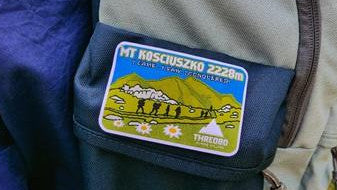 Mt Kosciuszko Iron On Patch