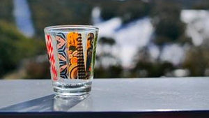Ride Australia Shot Glass