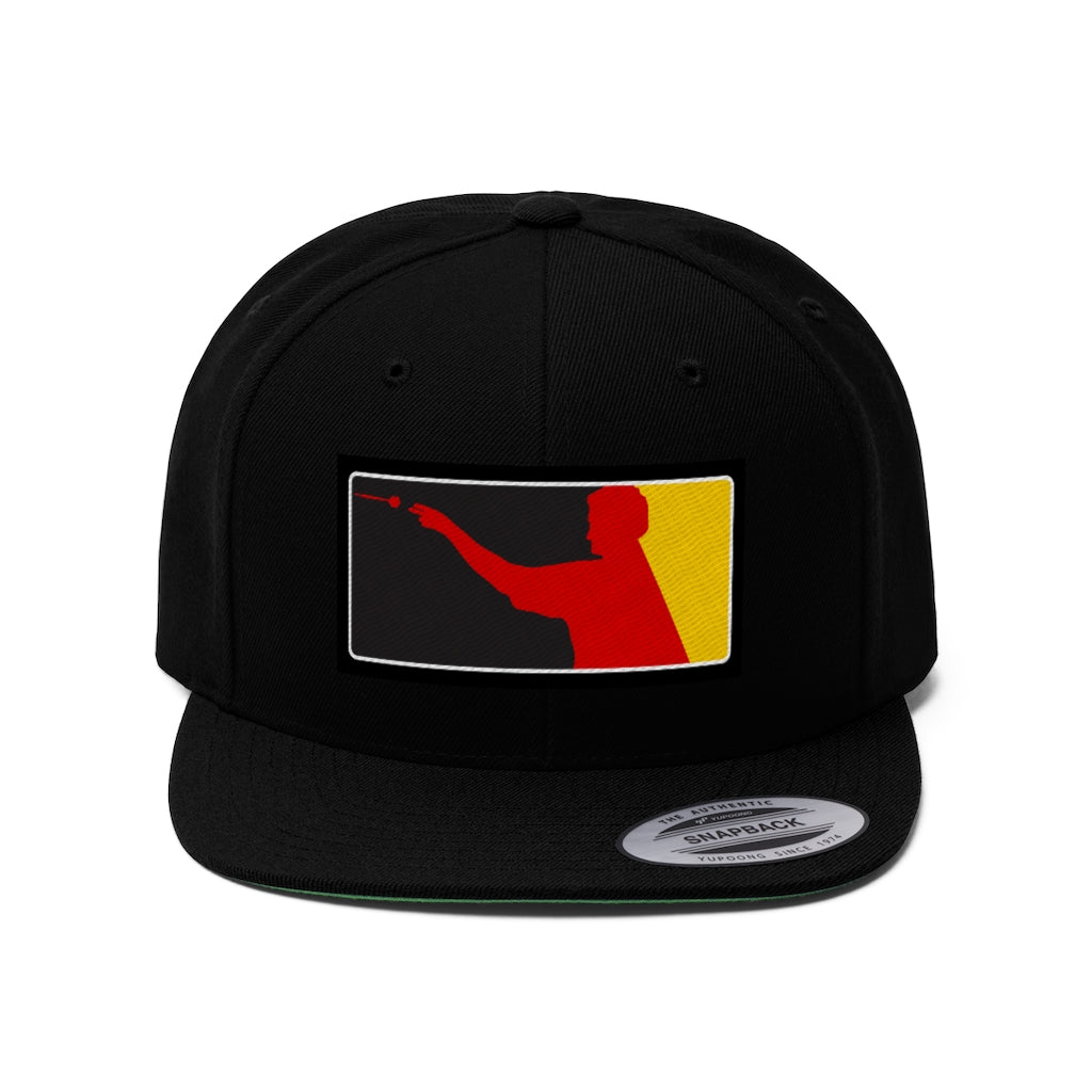 German Darts Unisex Flat Bill Hat