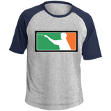 Irish Darts Colorblock Raglan Jersey
