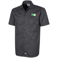 Irish Darts Men's Short Sleeve Workshirt