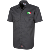 Whales Darts Short Sleeve Workshirt