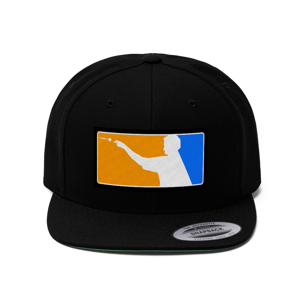 Dutch Darts Unisex Flat Bill Hat