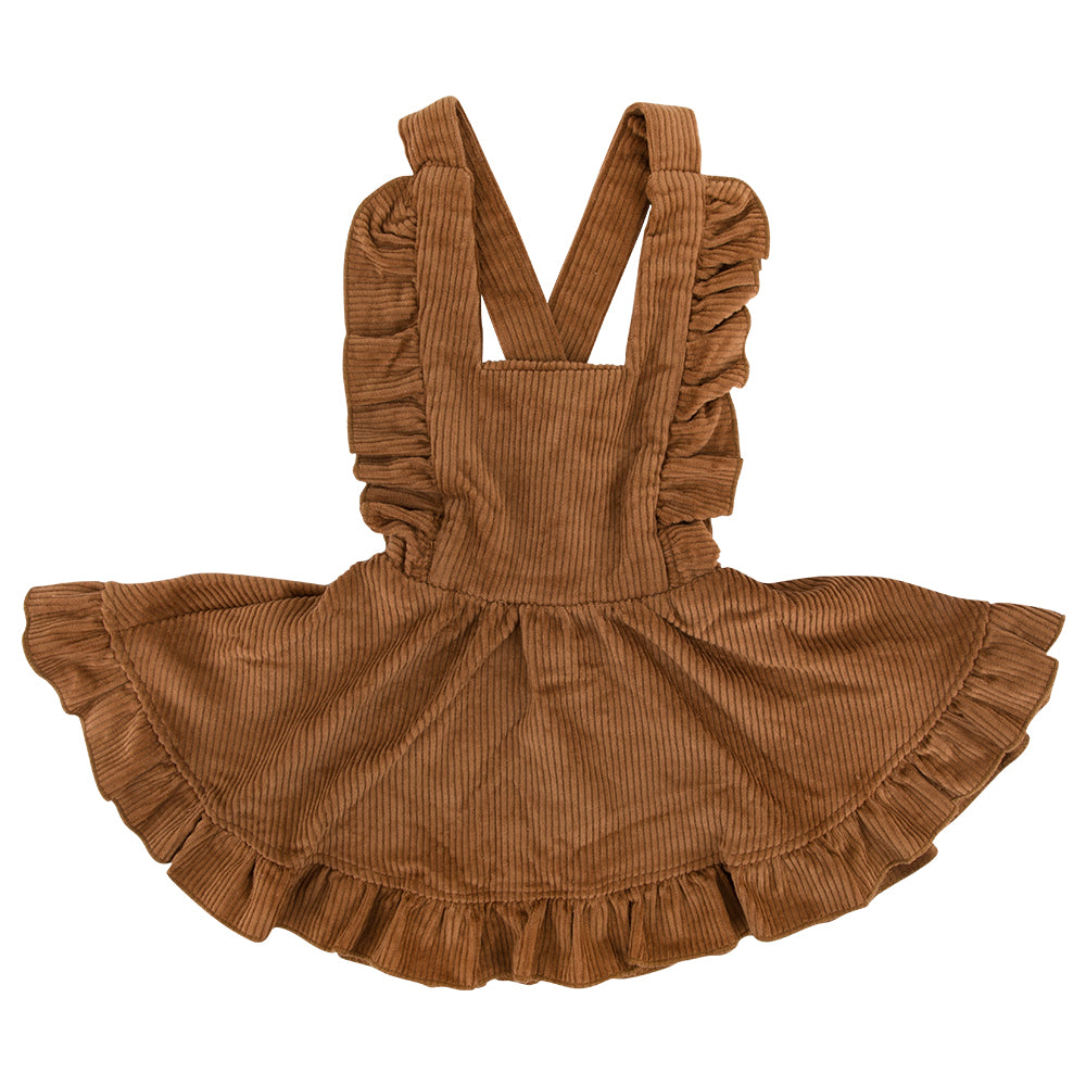 Cord Dress - Maple Syrup