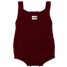 Knitted Romper - Mulberry Knit