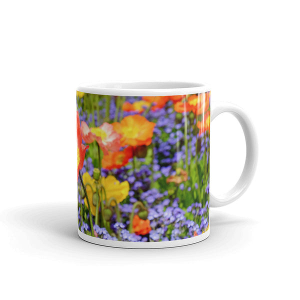 Flowers Every Day Mug - Spring Poppies