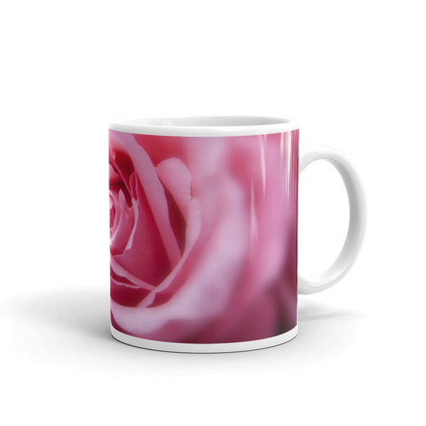 Flowers Every Day Mug - Pink Rose