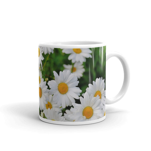 Flowers Every Day Mug - Daisies