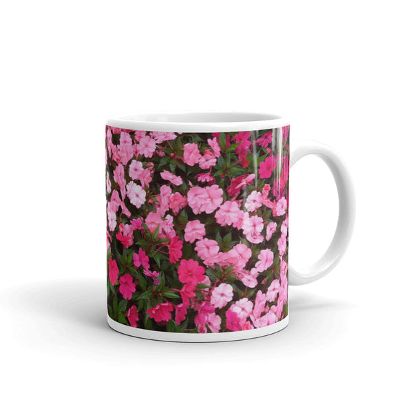 Flowers Every Day Mug - Pretty in Pink