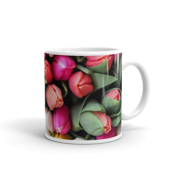 Flowers Every Day Mug - Spring Tulips