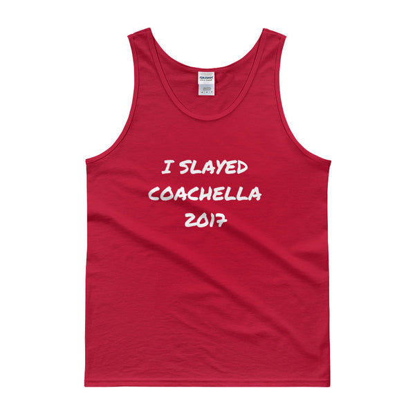 I Slayed Coachella 2017 Men's Tank Top