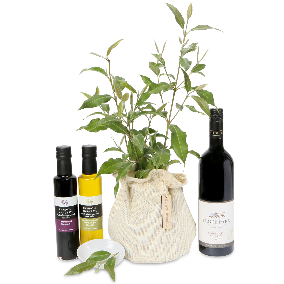 native tree Wine Lovers gift hamper