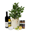 luscious lemon tree or tahitian lime gourmet gift hamper