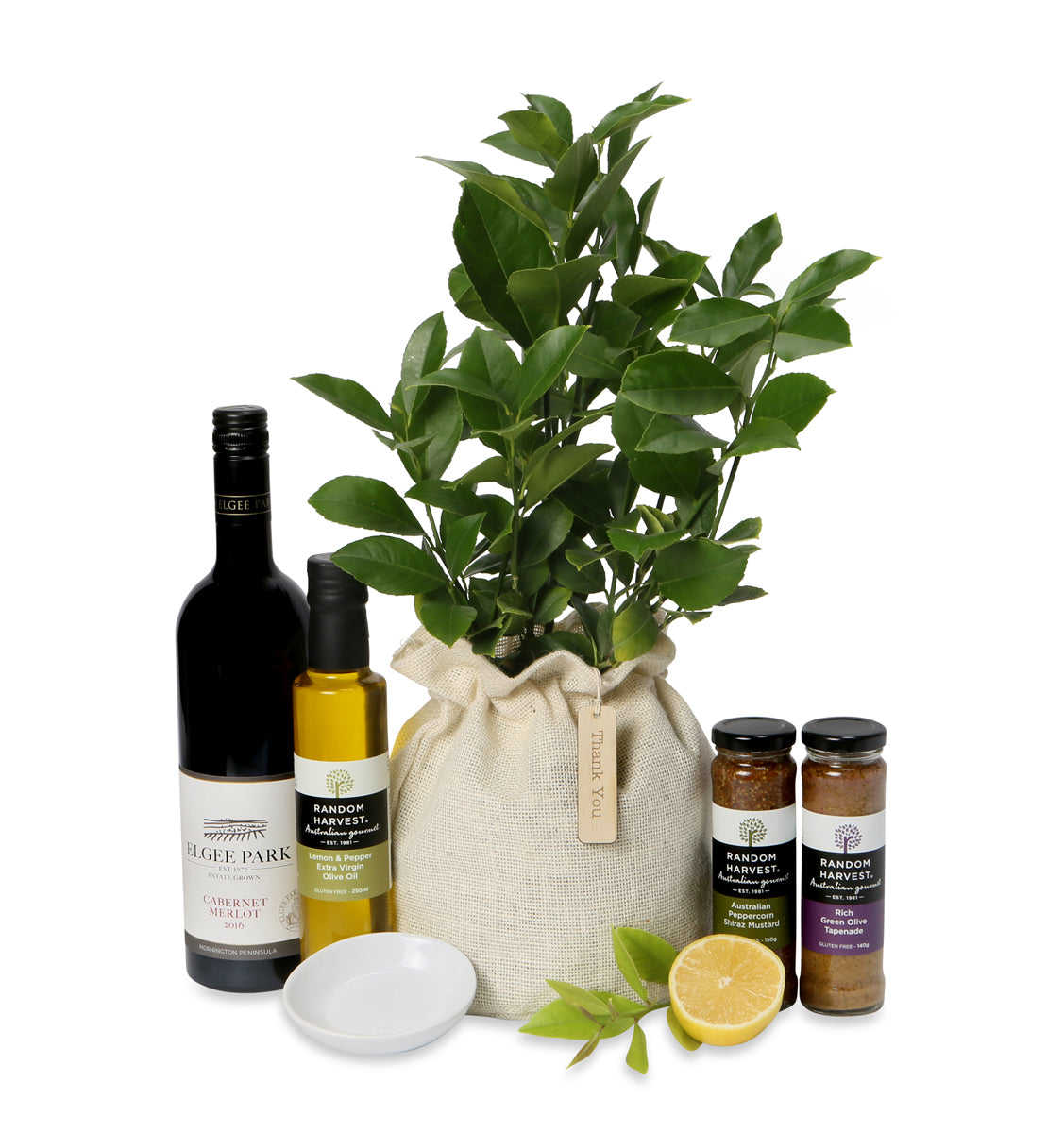 luscious lemon and lime tree gourmet gift hamper