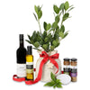 Christmas bay laurel gourmet gift hamper