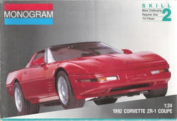 MONOGRAM 1/24 1992 Corvette ZR-1 Coupe
