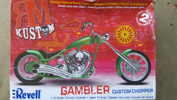 Revell 1/12 GAMBLER CUSTOM CHOPPER
