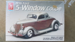 AMT ERTL 1/25 1936 Ford 5-Window Coupe