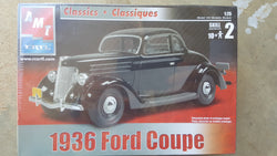 AMT ERTL 1/25 1936 Ford Coupe