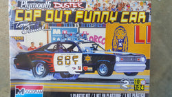 Monogram 1/24 Plymouth Duster COP OUT FUNNY CAR