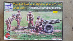 BRONCO 1/35 65mm Pack Howitzer M1A1 (British Airborne Version) & Gun Crew