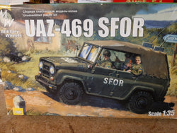 Military Wheels 1/35 UAZ-469 SFOR