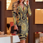 Lauren London Couture Vesta Luxury Dress