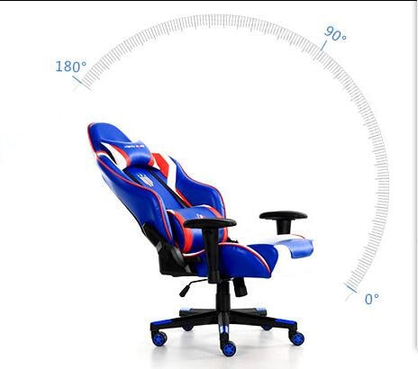 Tarantino High Back Gaming Chair With Headrest and Lumbar Support Ergonomic Design