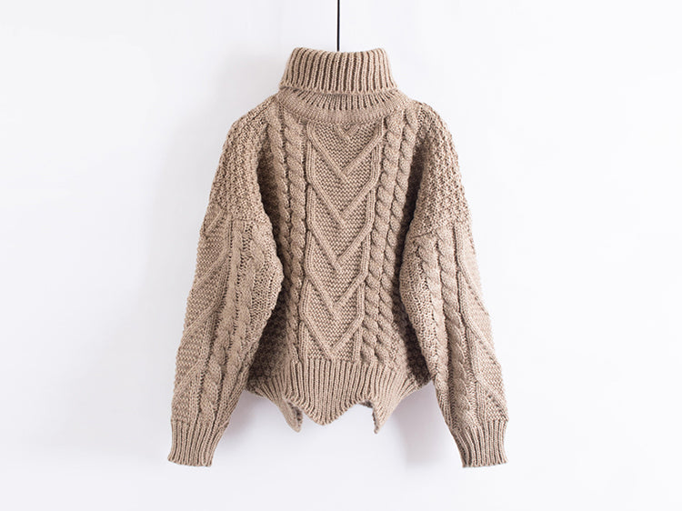 Katie Weinsky Knitted Cable Oversize Sweaters