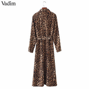 Jill Scott Vintage Leopard Print Maxi Dress