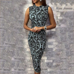 Lauren London Couture Elegant Vintage Bodycon Dress