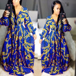 Karen Royal Dashiki Dress