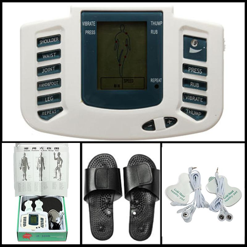 Kendra Kiel Digital Full Body Relax Pulse Acupuncture Therapy Massage with Slipper