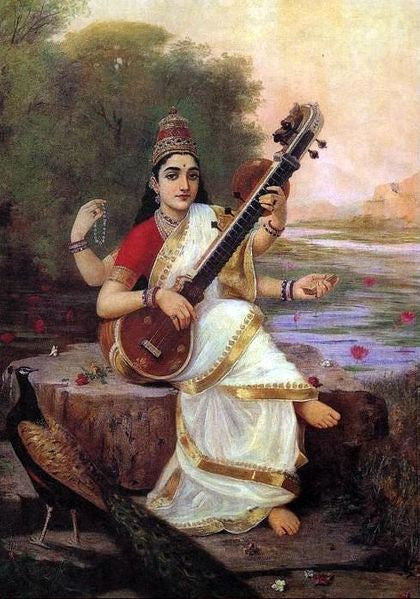 Saraswati - Hindu Goddess of Knowledge, Music and the Arts