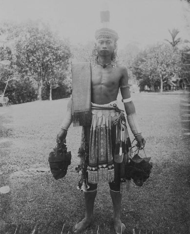 Dayak head taker