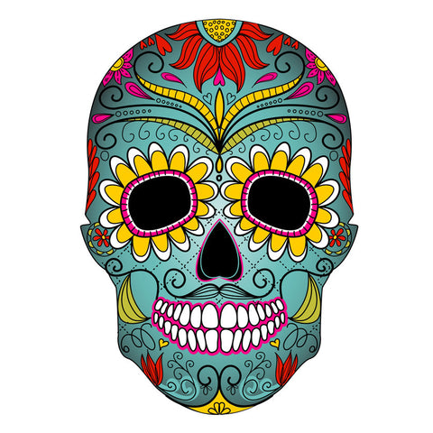 Day Of The Dead Imagery Can Be Traditional Or Stylised As This Image A Skull Shows