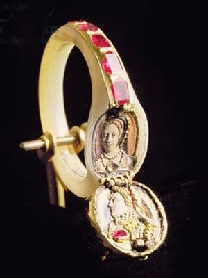 Elizabeth I locket ring