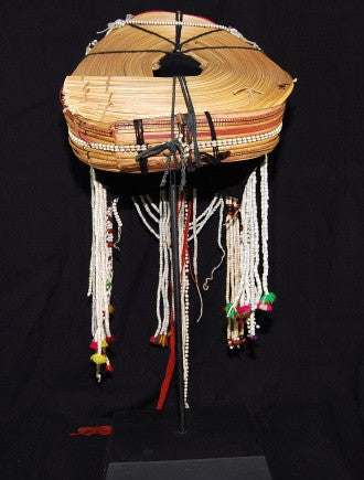 Burmese Akha Hill Tribe Headdress