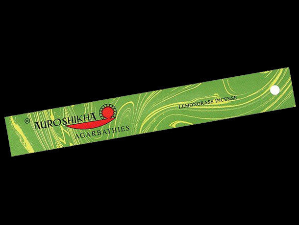 Auroshikha lemongrass  incense is crafted using only premium natural ingredients, plants and essential oils and has a fresh, natural lemongrass fragrance.