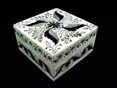 Trinket Box - Camel Bone and Wood