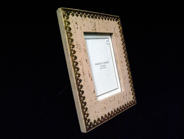 Jali Brass Trimmed Picture Frames