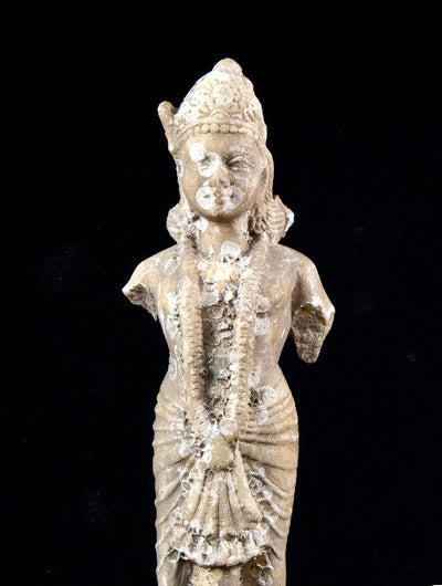 Antique Marble Vishnu Statue India